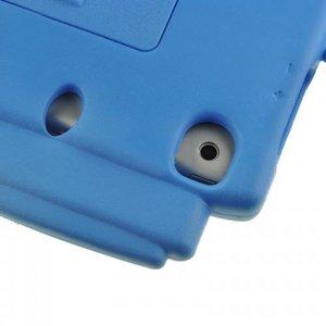 Чехол-подставка для Apple iPad mini - Smart cover train style синий