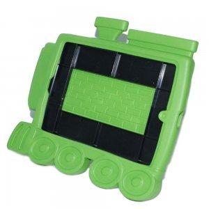 Чехол-подставка для Apple iPad mini - Smart cover train style зеленый