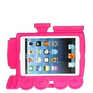 Чехол-подставка для Apple iPad mini - Smart cover train style розовый
