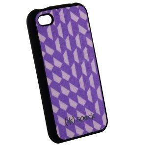 Чехол-накладка для Apple iPhone 4 - Speck CandyShell Rhombus фиолетовый