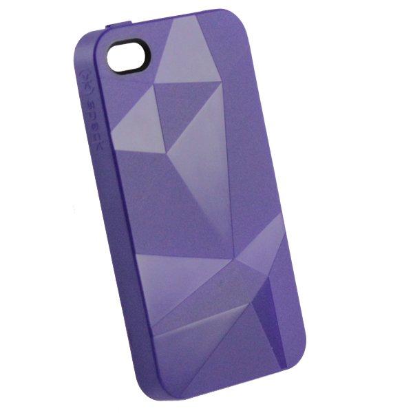 3D чехол Speck CandyShell фиолетовый для iPhone 4/4S