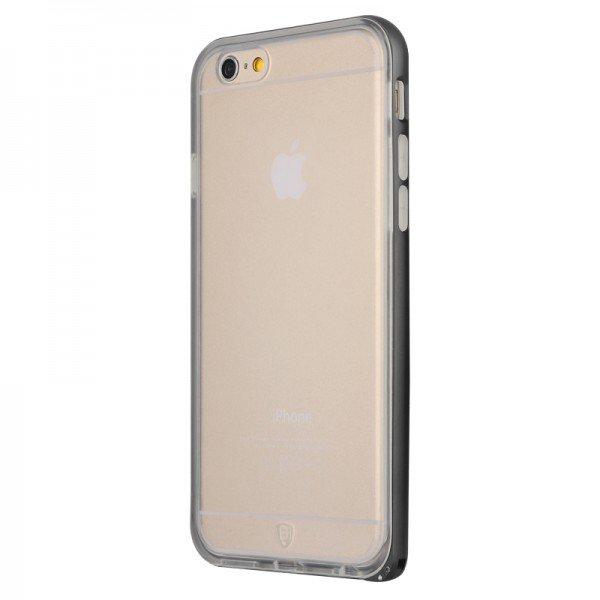 Чехол-накладка для Apple iPhone 6 Plus - Baseus Fusion черный