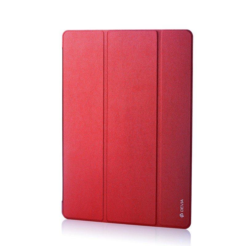 """Чехол-книжка для Apple iPad Pro 12,9"""" - Devia Light Grace красный"""