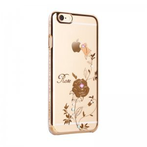 Чехол-накладка для Apple iPhone 6/6S - Kingxbar Foliflora Rose