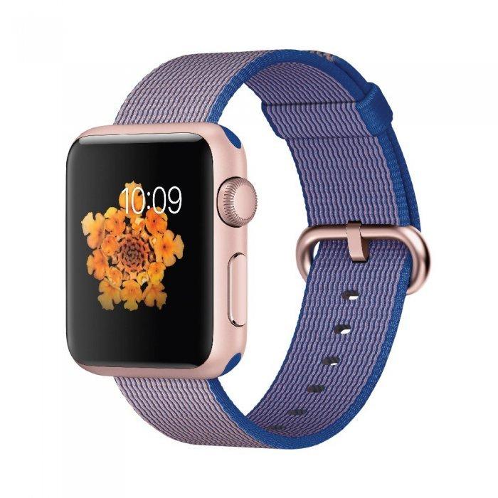 Нейлоновый ремешок COTEetCI W11 фиолетовый для Apple Watch 42/44 мм