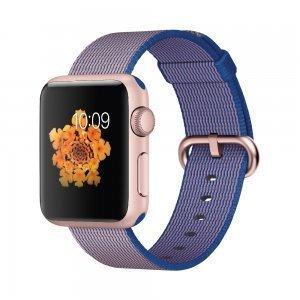 Нейлоновый ремешок COTEetCI W11 фиолетовый для Apple Watch 38/40 мм