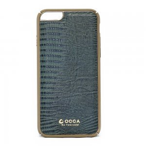 Чехол-накладка для Apple iPhone 6/6S - OCCA Lizard зеленый