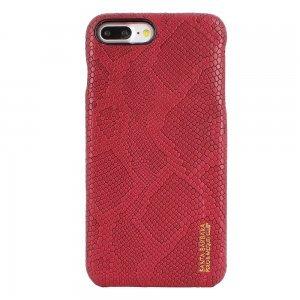 Кожаный чехол Polo OutBack красный для iPhone 8 Plus/7 Plus
