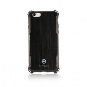 Пластиковый чехол WK Earl чёрный для iPhone 8/7/SE 2020