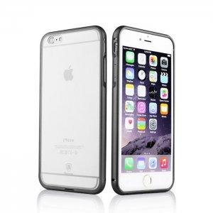 Чехол Baseus Crystal черный для iPhone 6/6S