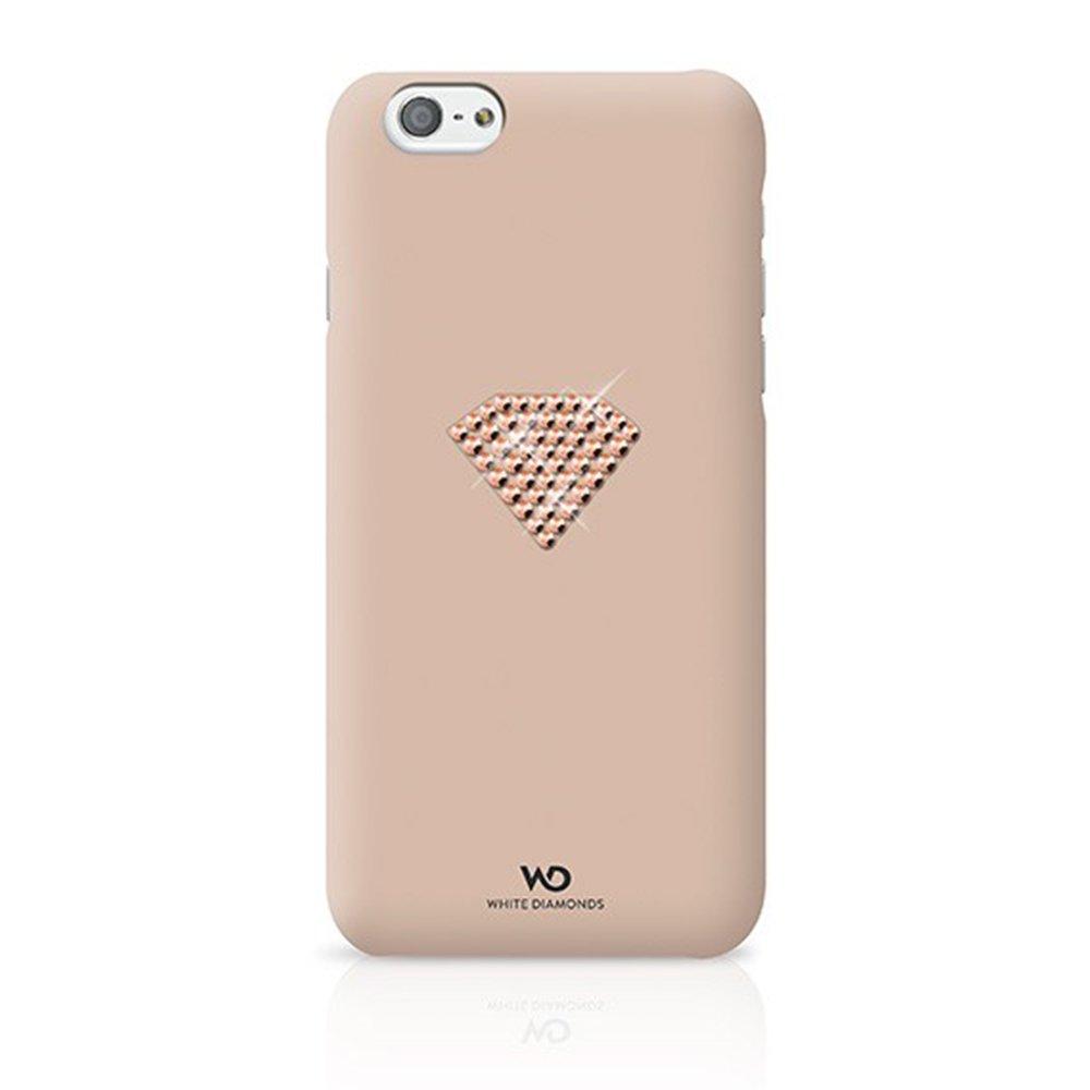 Чехол-накладка для Apple iPhone 6 - White Diamonds Rainbow золотистый