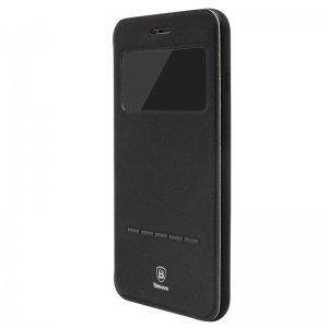 Чехол (книжка) с подставкой Baseus Simple черный для iPhone 8/7