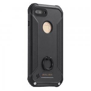 Водонепроницаемый чехол с подставкой Bolish I755 черный для iPhone 7 Plus