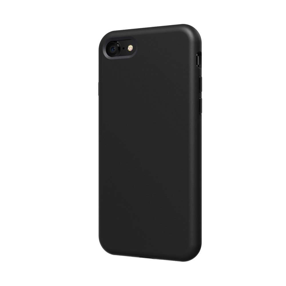 Противоударный (TPU) чехол SwitchEasy Numbers черный для iPhone 8/7