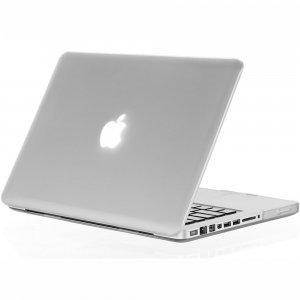 "Чехол-накладка для Apple MacBook Pro 13"" - Kuzy Rubberized Hard Case белый"