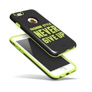 Чехол Baseus Fashion черный + зеленый для iPhone 6/6S