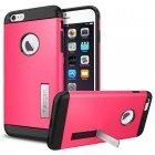 Чехол-накладка для iPhone 6 Plus/6S Plus - Spigen Case Slim Armor розовый