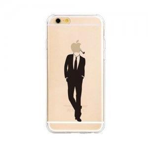 """Чехол-накладка для Apple iPhone 6 - Zethydum с рисунком """"Handsome Men"""""""