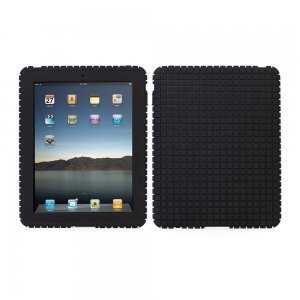 Чехол-накладка для Apple iPad - Speck PixelSkin Rubbery черный
