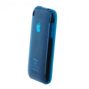 Полупрозрачный чехол Speck SeeThru синий для iPhone 3G/3GS
