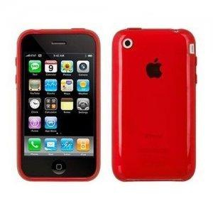 Полупрозрачный чехол Speck SeeThru красный для iPhone 3G/3GS