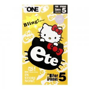 Наклейка для Apple iPhone 5/5S - The ONE Skin Hello Kitty Ete