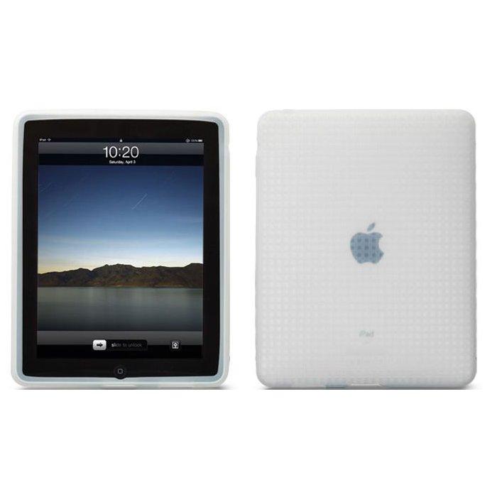 Чехол-накладка для Apple iPad - Tunewear Icewear белый