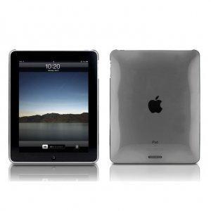 Чехол-накладка для Apple iPad - Tunewear TuneShell серый
