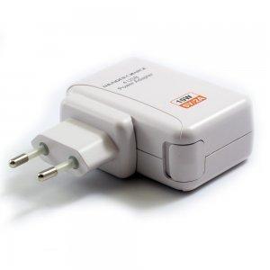 Сетевое зарядное устройство Universal Travel adapter 4 USB белое