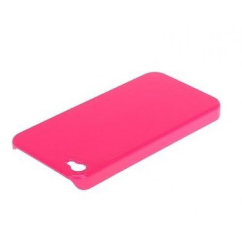 Чохол-накладка для Apple iPhone 4 - X-Doria Fit рожевий