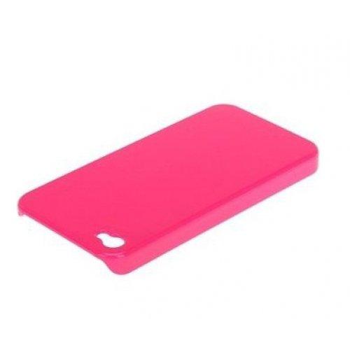 Чехол-накладка для Apple iPhone 4 - X-Doria Fit розовый
