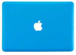 "Чехол-накладка для Apple MacBook Pro 13"" - Kuzy Rubberized Hard Case голубой (Aqua)"