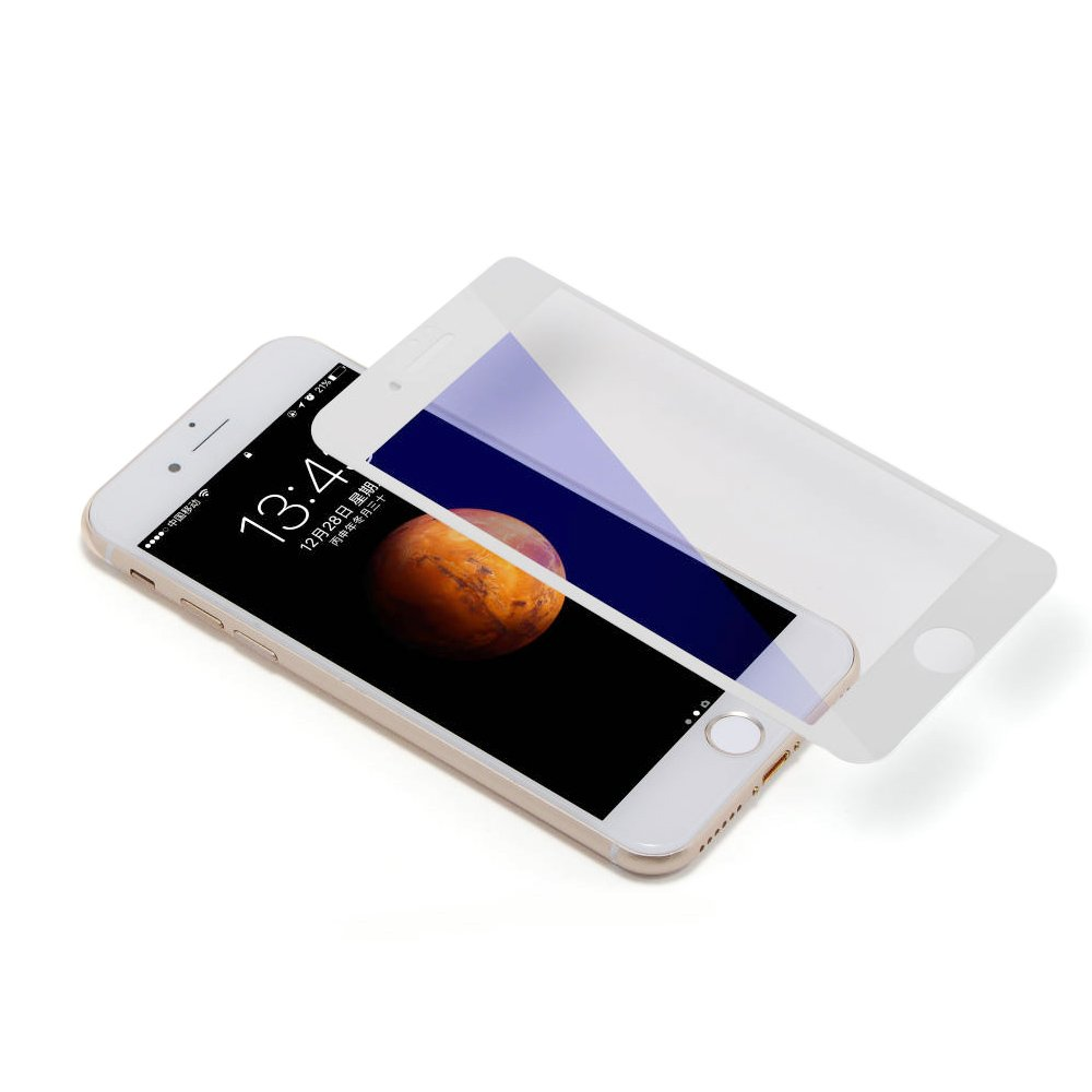 Защитное стекло COTEetCI Glass silk screen printed full-screen blu-ray белое для iPhone 7