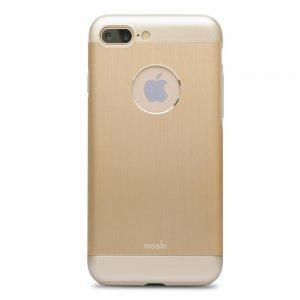 Защитный чехол Moshi iGlaze Armour золотой для iPhone 8 Plus/7 Plus