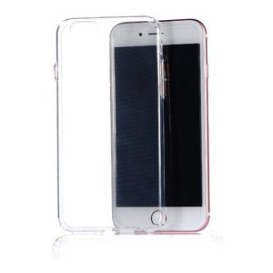 Силиконовый чехол COTEetCI ABS прозрачный + розовый для iPhone 6/6S