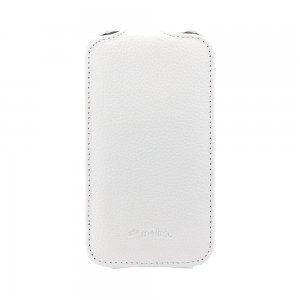 Чехол-флиппер для HTC Desire SV T326e - Melkco Jacka белый