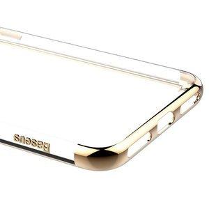 Силиконовый чехол Baseus Shining золотой для iPhone 8/7
