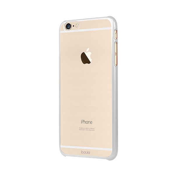 Чехол-накладка для Apple iPhone 6/6S - iBacks Premium PC белый