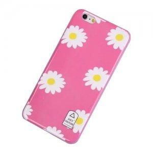 Чехол-накладка для Apple iPhone 6 - Juicy Couture Daisy розовый
