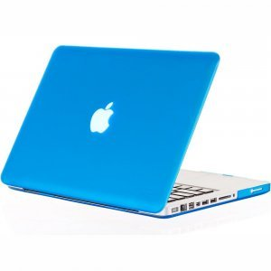 "Чехол-накладка для Apple MacBook Pro 15"" - Kuzy Rubberized Hard Case голубой (Aqua)"