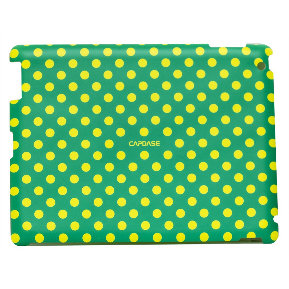 Наклейка для Apple iPad 2/3/4 - Capdase ProSkin Polka зеленая