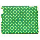 Наклейка для Apple iPad 2/3/4 - Capdase ProSkin Polka зеленая