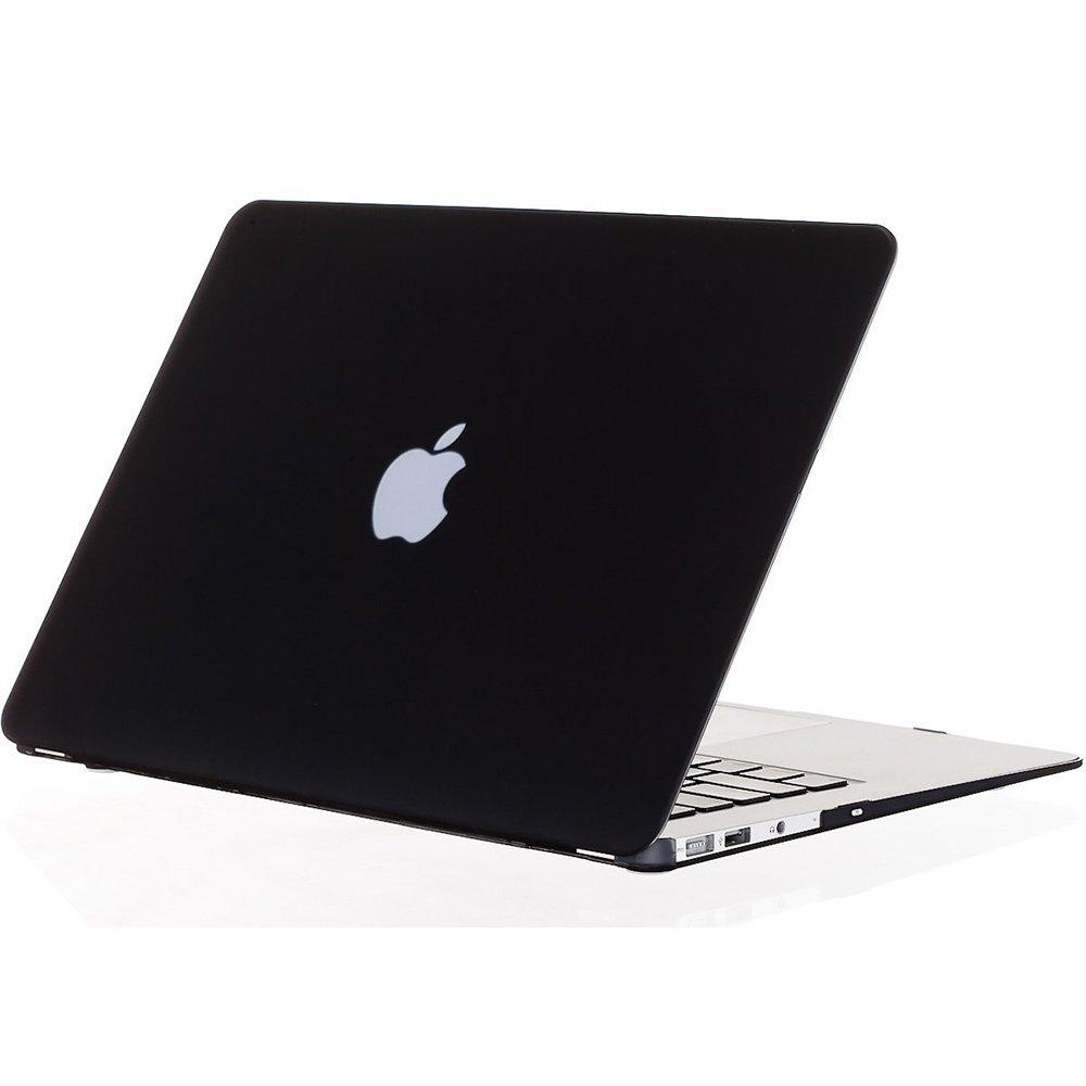 "Чехол-накладка для Apple MacBook Air 13"" - Kuzy Rubberized Hard Case черный"