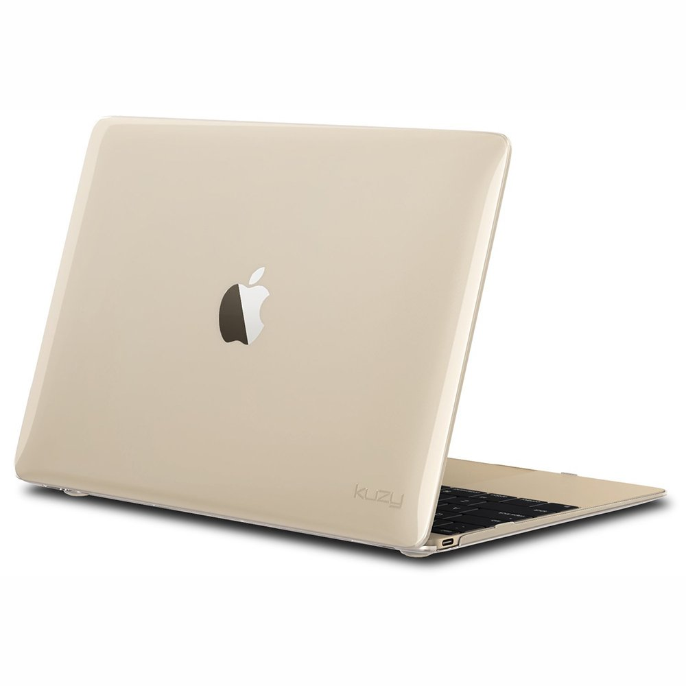 "Чехол-накладка для Apple MacBook 12"" - Kuzy Rubberized Hard Case прозрачный"