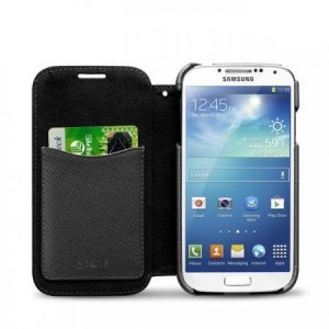 Чохол-книжка для Samsung Galaxy S4 - Zenus Minimal чорний