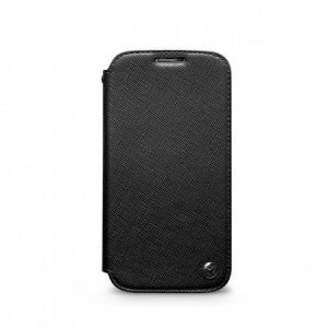 Чехол-книжка для Samsung Galaxy S4 - Zenus Minimal черный