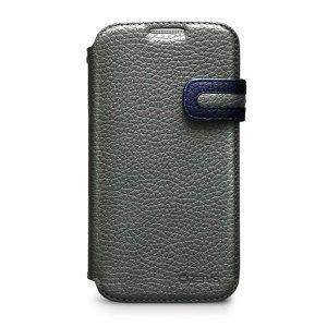 Чохол-книжка для Samsung Galaxy S4 - Zenus Modern Edge сірий