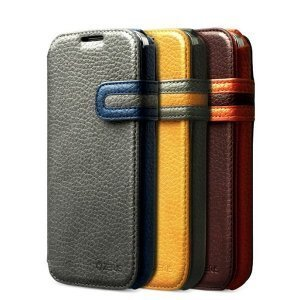 Чехол-книжка для Samsung Galaxy S4 - Zenus Modern Edge серый