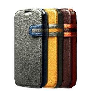 Чехол-книжка для Samsung Galaxy S4 - Zenus Modern Edge желтый