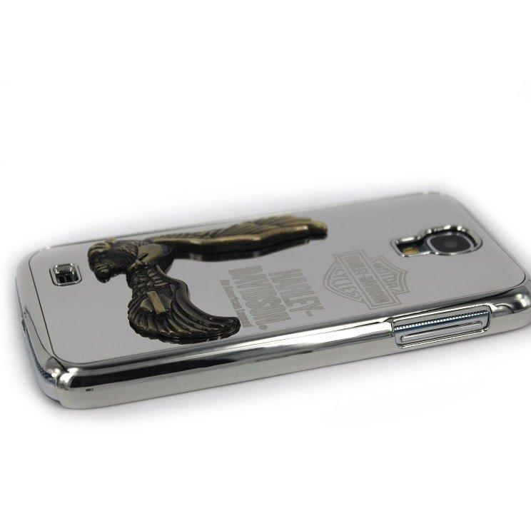 Чехол-накладка для Samsung Galaxy S4 - Zippo 3D Eagle серебристый